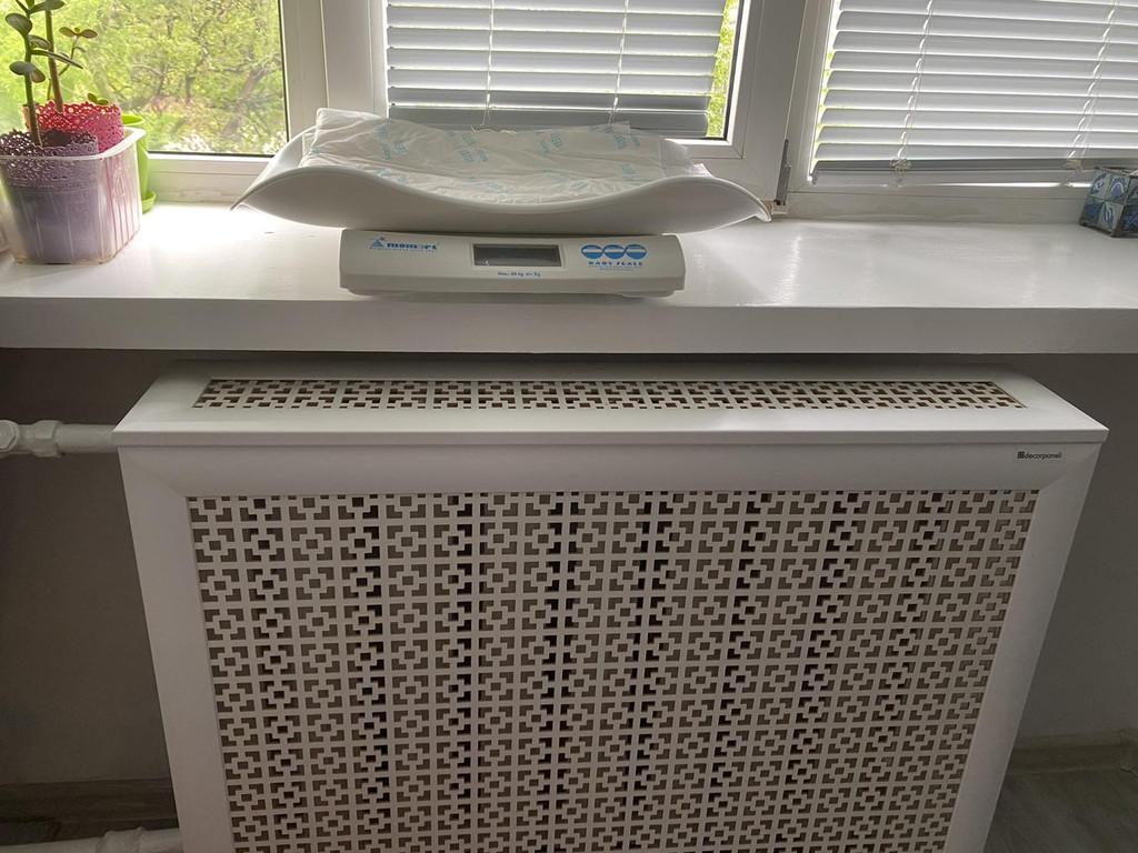 Декоративний короб Ефес, колір білий