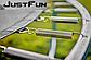 Спортивний Батут Just Fun 305 см Multicolor з Внутрішньої Сіткою + Сходи (Навантаження 150 кг), фото 4