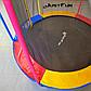 Спортивний Батут Just Fun 305 см Multicolor з Внутрішньої Сіткою + Сходи (Навантаження 150 кг), фото 3