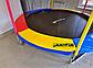 Спортивний Батут Just Fun 305 см Multicolor з Внутрішньої Сіткою + Сходи (Навантаження 150 кг), фото 8