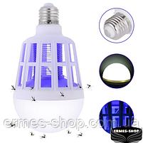 Светодиодная лампа-приманка для насекомых Mosquito Killer Lamp | Антимоскитная лампа-светильник, фото 2