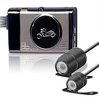 Мото відеореєстратор RELEE MT16, з двома камерами, 3,0 дюйма 1080P, подвійна камера, фото 1
