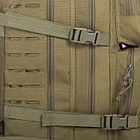 Рюкзак тактичний військовий штурмовий SILVER KNIGHT 30 л Нейлон Оксфорд Оливковий (1512), фото 5
