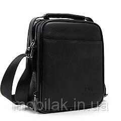 Чоловіча сумка-планшет з натуральної шкіри dr.Bond  1436