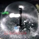 Погружной прудовый насос-фильтр с уф-стерилизатором и фонтаном SunSun CUF-5011 (45 Вт, 2000 л/ч, UV-11 Вт), фото 2