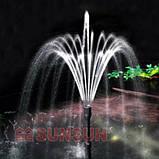 Погружной прудовый насос-фильтр с уф-стерилизатором и фонтаном SunSun CUF-5011 (45 Вт, 2000 л/ч, UV-11 Вт), фото 4