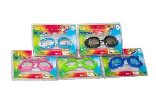Очки для плавания + беруши 118