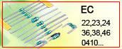 220uH ±10% аксиальный дроссель 155mA 5,1Ohm (KLS18-EC36-221K-A – KLS)