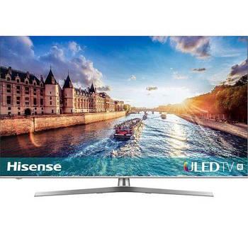 Телевизор Hisense H55U8BE (55 дюймов, Ultra HD, 4K, 120Гц, 4 Ядра, HDR, Smart TV, HDMI)