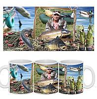 Чашка з фото Рибаку / Гуртка з фото для рибака