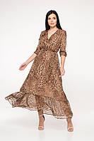 Шифоновое платье в пол, фото 1