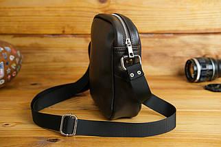 Мужская сумка Модель №64 лайт, гладкая кожа, цвет Шоколад, фото 3