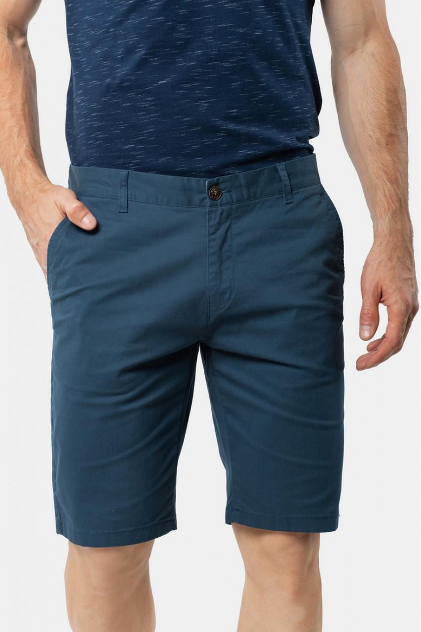 Мужские джинсовые шорты AVECS хлопковые (синие)