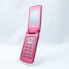 Мобильный телефон Samsung C3520 Coral Pink раскладушка 800 мАч, фото 2