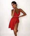 Женское платье, софт, р-р 42-44; 44-46 (красный), фото 2