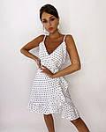 Женское платье, софт, р-р 42-44; 44-46 (белый), фото 2