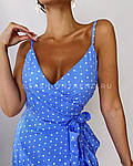 Женское платье, софт, р-р 42-44; 44-46 (голубой), фото 3