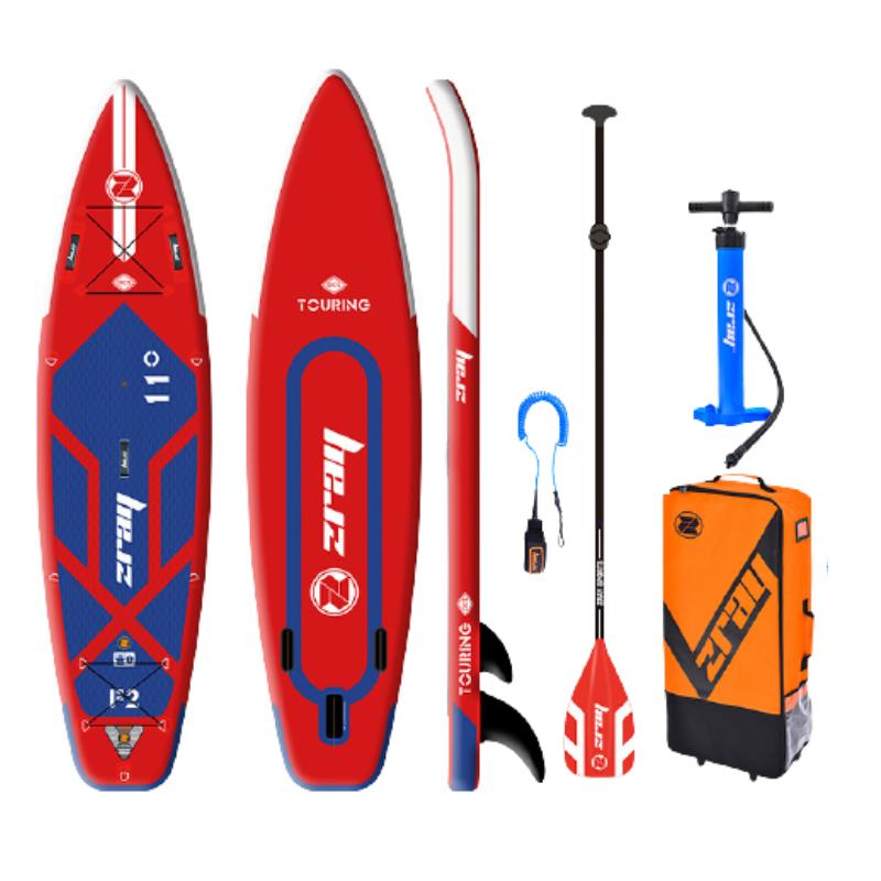 Сапборд ZRAY FURY PRO 11' (2021) - надувная доска для САП сёрфинга и винд сёрфинга, sup board