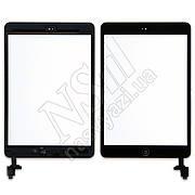 Тачскрин APPLE iPad Mini/Mini 2 с микросхемой и кнопкой Home черный