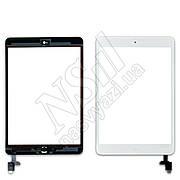 Тачскрин APPLE iPad Mini/Mini 2 с микросхемой и кнопкой Home белый