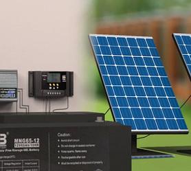 Солнечные станции для автономного освещения