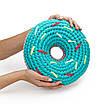 Набор для вязания крючком SWEET DONUT Цвет: Красный Мак + Синий электрик, фото 4