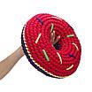 Набор для вязания крючком SWEET DONUT Цвет: Красный Мак + Синий электрик, фото 5