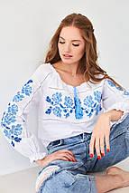 """Женская вышиванка с классическим орнаментом """"Роза"""", фото 2"""