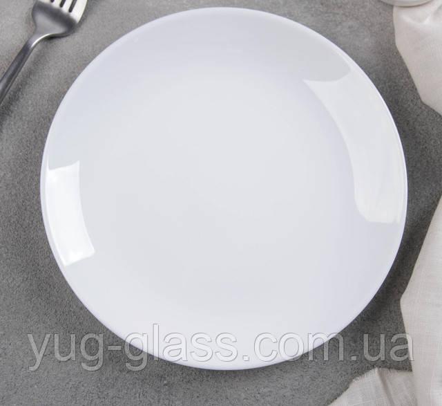 тарелка белая десертная