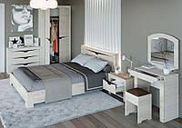 Спальня Либерти 4 (модульная) дуб сонома + белый