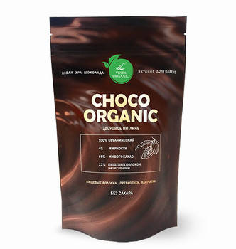 Choco Organic , 250 г, фото 2