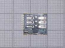 Роз'єм для SIM приймач Acer новий