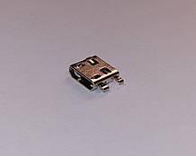 Разъём MICRO USB Acer тип 1 новый