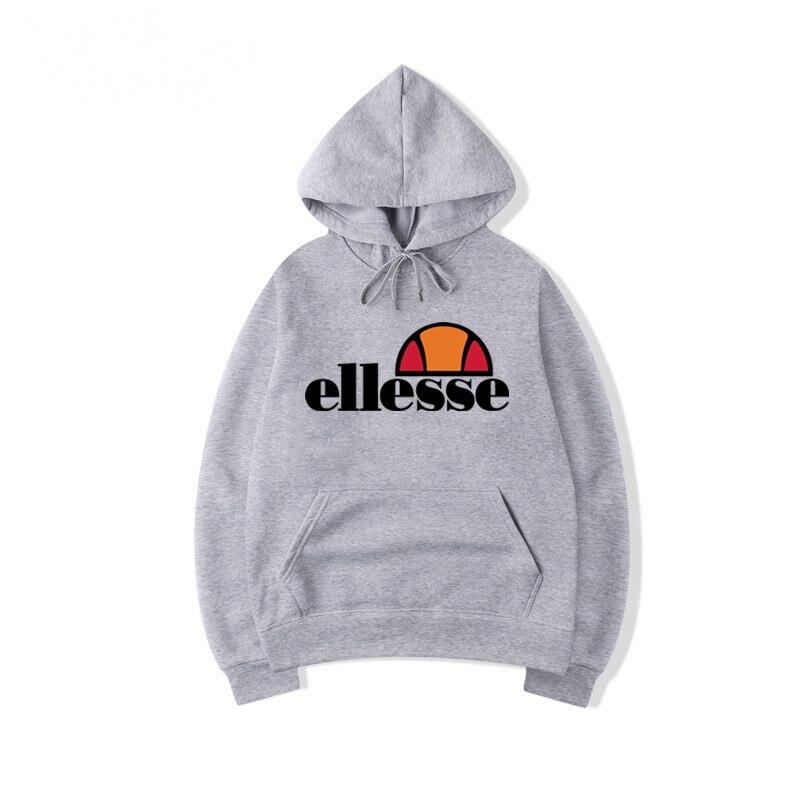 Худі Ellesse чорне з лого, унісекс (чоловіче, жіноче, дитяче)