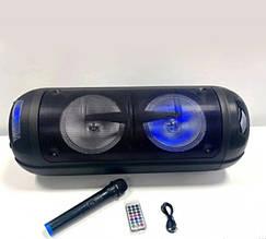 Легка, портативна Bluetooth-колонка, з гучним звуком, пультом і мікрофоном LT-2806XBT