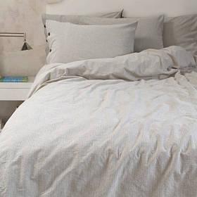 Постельное белье Barine Washed cotton - Shint beige бежевый семейный
