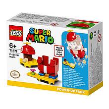 Конструктор Lego Super Mario Марио вертолет дополнительный набор 13 деталей 71371, КОД: 2437388