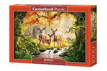 Пазлы Castorland Семья оленей 1000 элементов tsi55001, КОД: 1671206