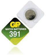 Батарейка часовая GP 391-A1 (AG8, SR55)