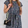 Сукні жіночі Аліна сині 202, фото 9