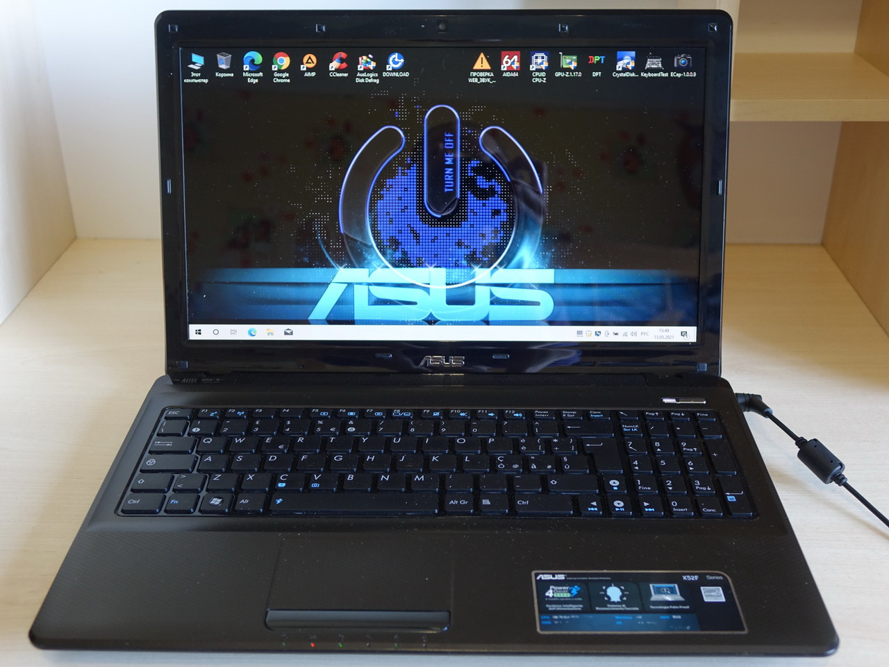 "Ноутбук ASUS K52F/X52F 15.6""/Core i3-350M/4gb DDR3/HDD 500gb/Intel HD"