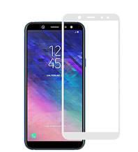 Защитное стекло 5Dдля Samsung Galaxy A6 Plus/A605 (2018)