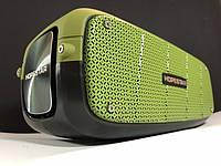 Портативная Bluetooth колонка Hopestar A20 Зеленая Хопстар акустическая система с аккумулятором с влагозащитой