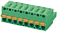 Клеммник 2EDGKD-5.08-06P-14-00A(H)