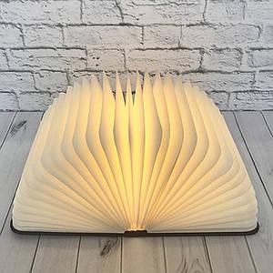 Світильник Книга 3Д (світле дерево)