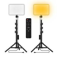 Набор постоянного студийного света YINGNUOST 2018 MM-240 LED 2 Set 1,2 м для фото видеосъемки