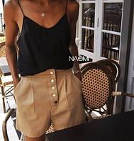 Жіночі літні шорти з кишенями новинка 2021