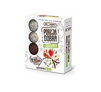 Фруктово-ореховые шарики, натуральные фруктово-ореховые конфеты без сахара 144 г, Ecobi
