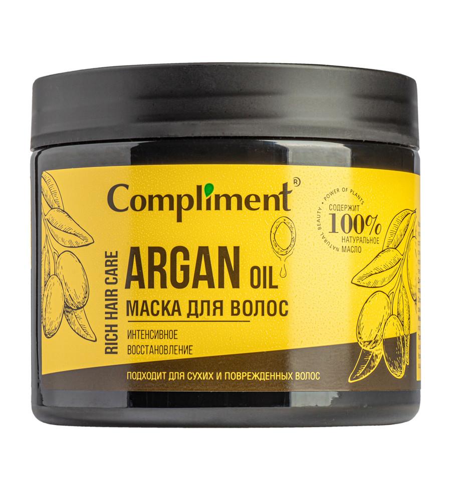 Маска для сухих и поврежденных волос - интенсивное восстановление Rich Hair Care Compliment 400 мл.