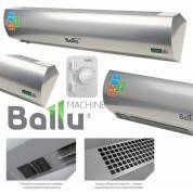 Тепловая электрическая завеса BALLU BHC-L15-S09-М (BRC-E) (9кВт, 380В, высота 2,5м, ширина 1,5 м, цвет - metallic, пульт)